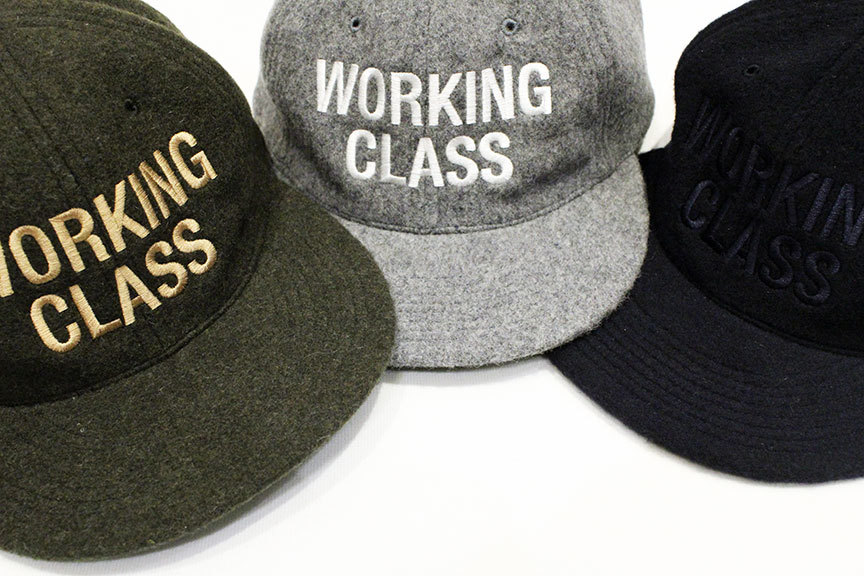 "THE COLOR (ザ・カラー) "" WORKING CLASS \"" WOOL CAP_b0122806_12492824.jpg"