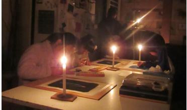 火を描く 小学生クラス(上高野)_f0211514_22162947.jpg
