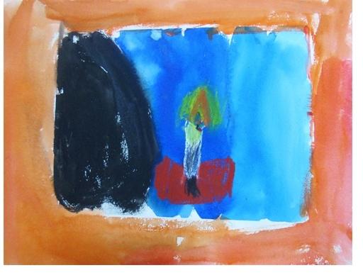 火を描く 小学生クラス(上高野)_f0211514_22195573.jpg