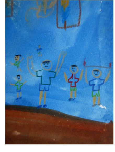 火を描く 小学生クラス(上高野)_f0211514_22213447.jpg