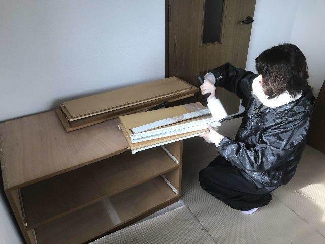 搬入と搬出と部材確認と建デポ発注_f0031037_17333519.jpg