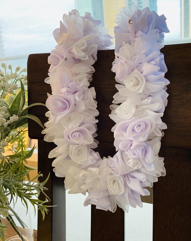 【Wedding Tuberose Lei ウェディング チューブ ローズレイ】_c0196240_03422870.jpeg