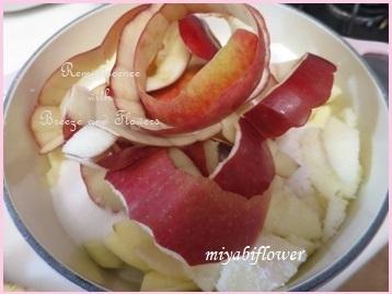 紅玉で作るピンクのりんごジャム(レシピあり)2020_b0255144_16392743.jpg