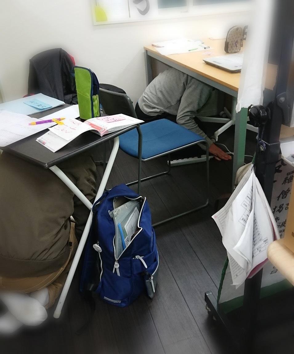 地震です。。。避難訓練_f0065444_18104402.jpeg