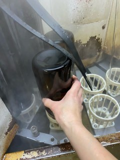 「令和1BY 夢錦7-60」「令和1BY 雄町7-65」タンク直汲み用瓶洗い_d0007957_22545047.jpg
