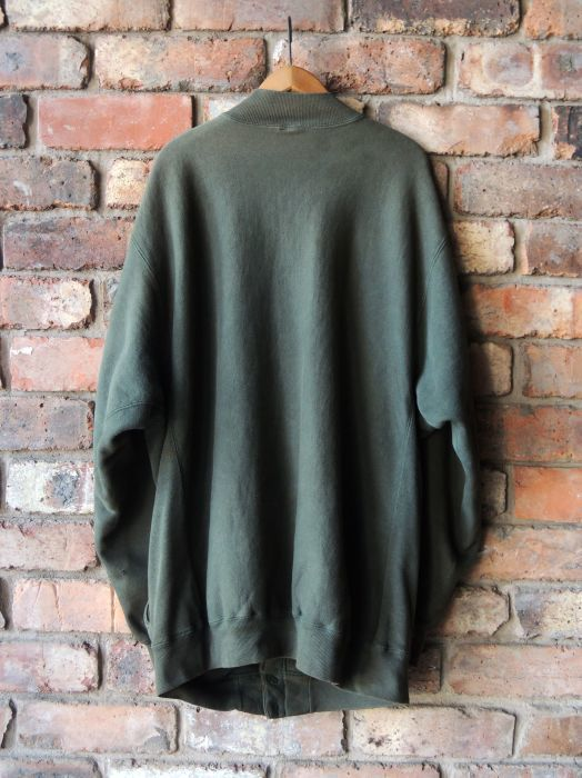 90S CHAMPION REVERSE WEAVE SNAP CARDIGAN GREEN--RECOMMEND--_d0334976_14011918.jpg