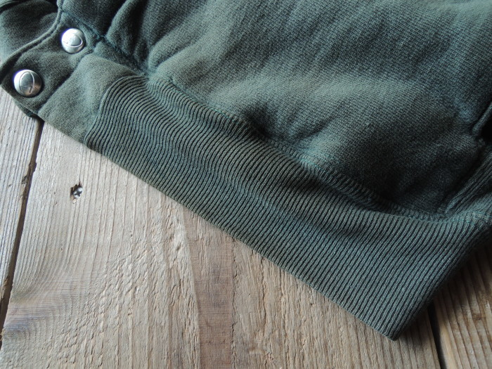 90S CHAMPION REVERSE WEAVE SNAP CARDIGAN GREEN--RECOMMEND--_d0334976_14170799.jpg