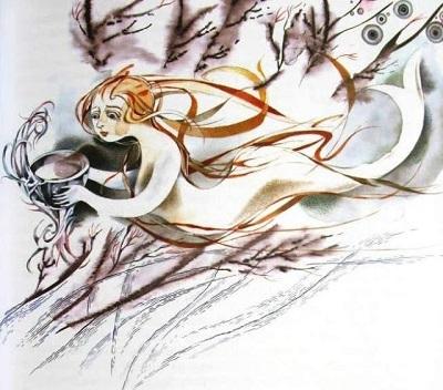 А. Андреева画:ロシアのアンデルセン本より「人魚姫」_c0084183_11090089.jpg