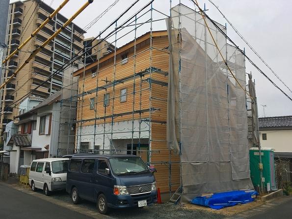 中山 2階リビング都市型スタイルの家 ★大工工事、給排水工事_d0205883_19154426.jpg
