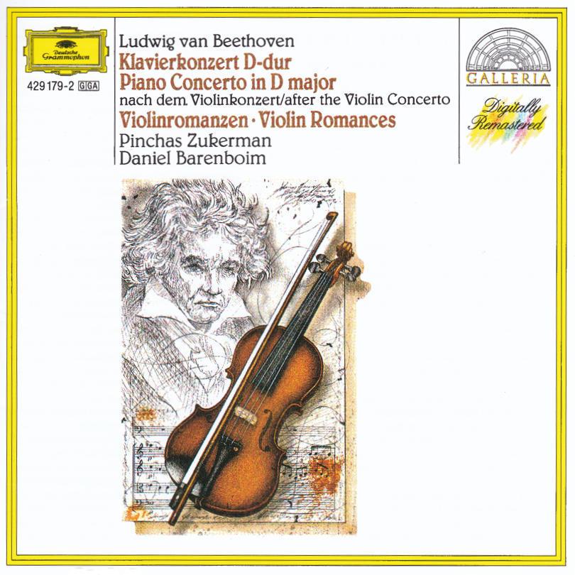 さぁ、今日はバレンボイムのピアノ弾き振りで、ベートーヴェンのヴァイオリン協奏曲を聴いてみましょう、の巻。_c0257904_14343808.jpg