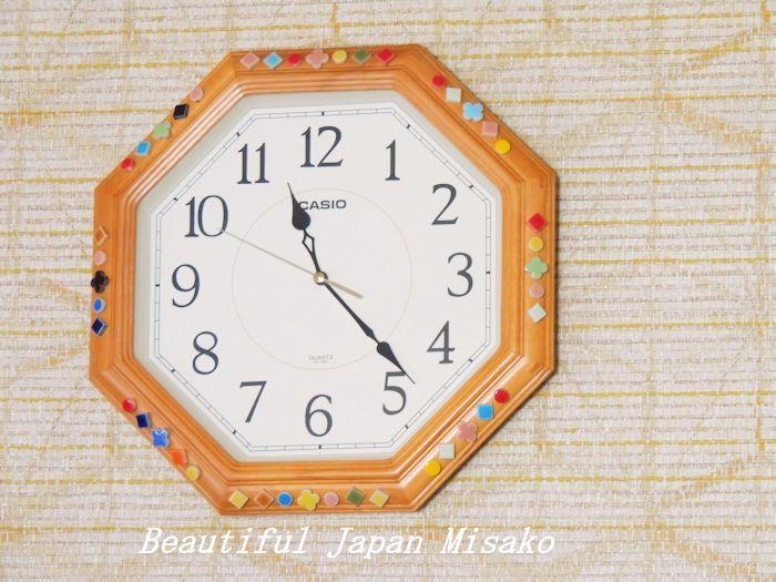 時計飾ってみたよっ!・゚☆、・:`☆・・゚・゚☆。_c0067206_11392024.jpg