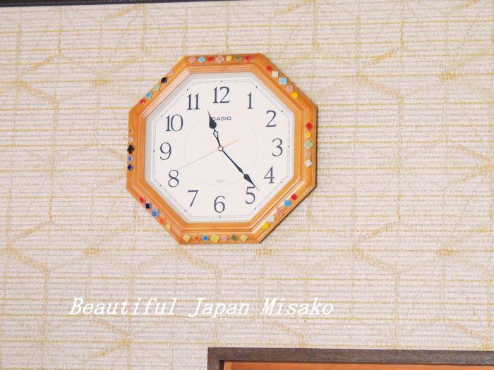 時計飾ってみたよっ!・゚☆、・:`☆・・゚・゚☆。_c0067206_11392308.jpg