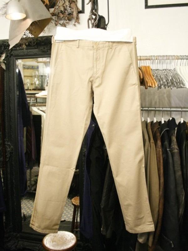その男本厄、大厄につき 入荷マルタンマルジェラ、カルヴェンの新品、シャツ、パンツ、靴、バッグ_f0180307_03121129.jpg