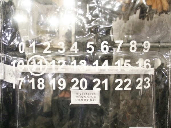 その男本厄、大厄につき 入荷マルタンマルジェラ、カルヴェンの新品、シャツ、パンツ、靴、バッグ_f0180307_03231186.jpg