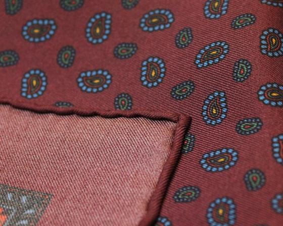 【入荷】ROBERT KEYTEシルクのポケットチーフ_b0081010_20081754.jpg