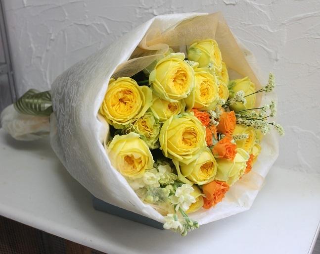 バラの花束_d0227610_17523251.jpg