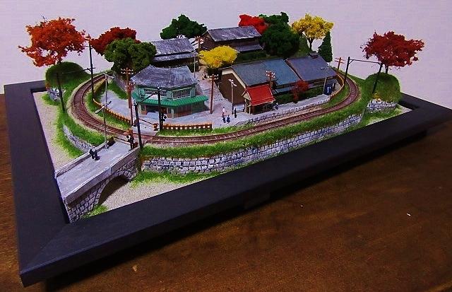 盆ラマレイアウト「黄昏の小径」シリーズその2京町家_f0227828_20455601.jpg