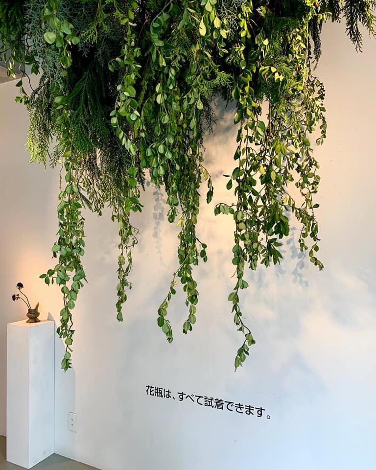 市村美佳子展「花瓶専門店」へ_e0243332_21391017.jpg