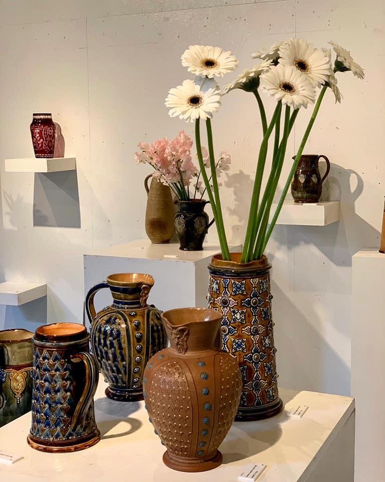市村美佳子展「花瓶専門店」へ_e0243332_21391466.jpg