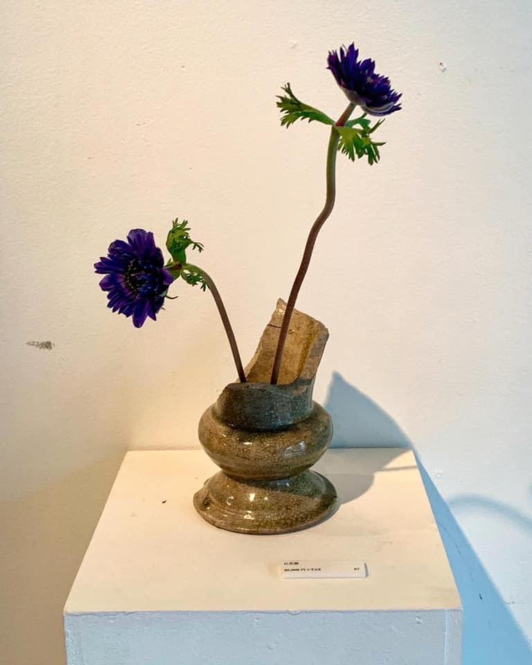 市村美佳子展「花瓶専門店」へ_e0243332_21391623.jpg