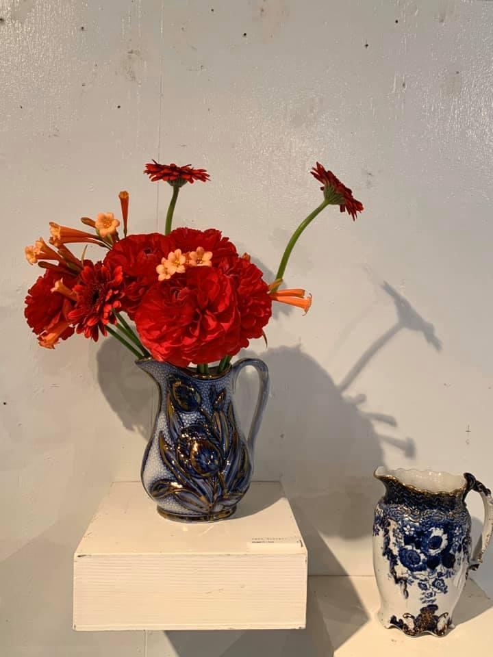 市村美佳子展「花瓶専門店」へ_e0243332_21392165.jpg