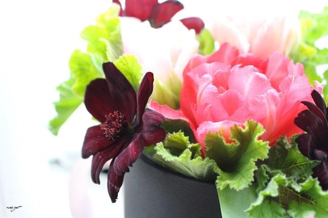 チョコレートが香るお花のWS『日比谷花壇フラワーバレンタイン』に感動♪_f0023333_21321137.jpg