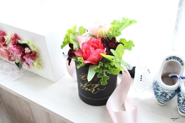 チョコレートが香るお花のWS『日比谷花壇フラワーバレンタイン』に感動♪_f0023333_21321158.jpg