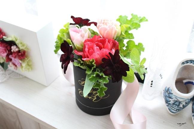 チョコレートが香るお花のWS『日比谷花壇フラワーバレンタイン』に感動♪_f0023333_21321159.jpg