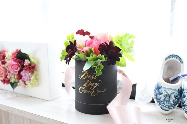 チョコレートが香るお花のWS『日比谷花壇フラワーバレンタイン』に感動♪_f0023333_21321175.jpg