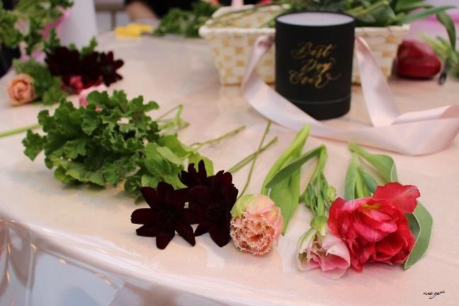 チョコレートが香るお花のWS『日比谷花壇フラワーバレンタイン』に感動♪_f0023333_21330409.jpg