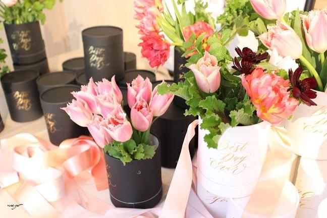 チョコレートが香るお花のWS『日比谷花壇フラワーバレンタイン』に感動♪_f0023333_21330479.jpg