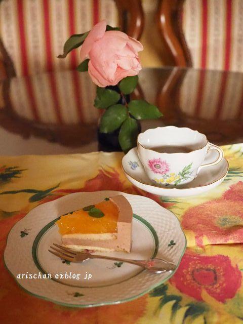 紅まどんなのチョコレートムースケーキ(ホ―ル)_e0406439_23071106.jpg