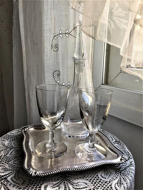 吹きガラスワイングラス111 2個セット_f0112550_03010020.jpg
