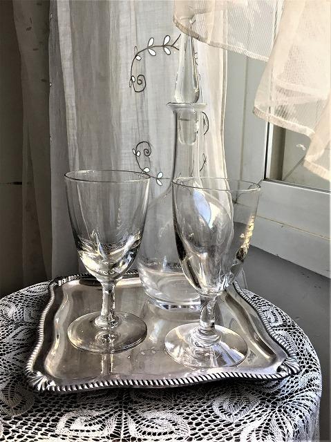 吹きガラスワイングラス111 2個セット_f0112550_03010046.jpg