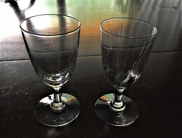 吹きガラスワイングラス111 2個セット_f0112550_03010061.jpg