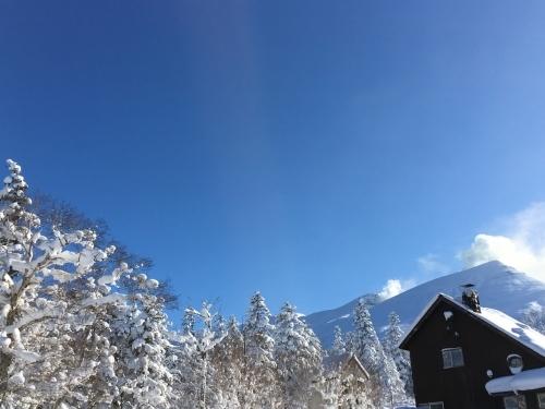 三段山でスノーシュー_e0326953_16595317.jpg