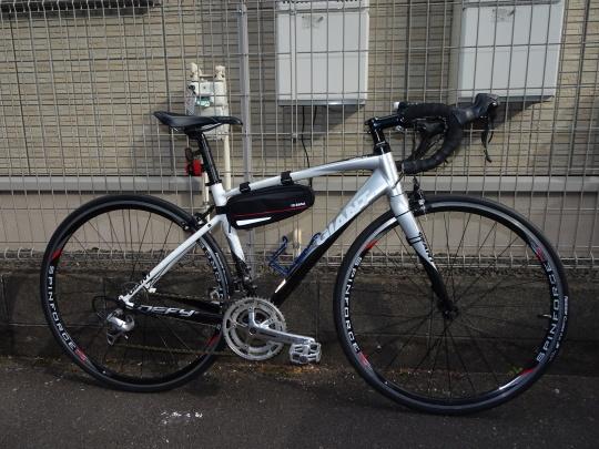 スポーツサイクルお買い上げ ペダルのカスタム_e0140354_17555669.jpg