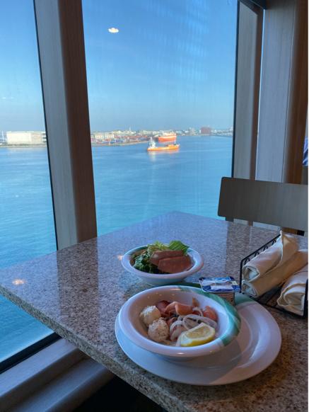 4日目 沖縄寄港日に食べたもの。ゆうなんぎいと沖縄ぜんざい。 ダイヤモンドプリンセス沖縄台湾クルーズ_f0054556_13543005.jpg