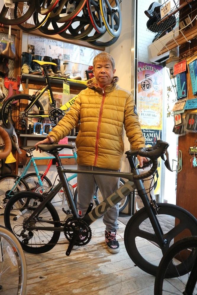 1月18日 渋谷 原宿 の自転車屋 FLAME bike前です_e0188759_18110665.jpg