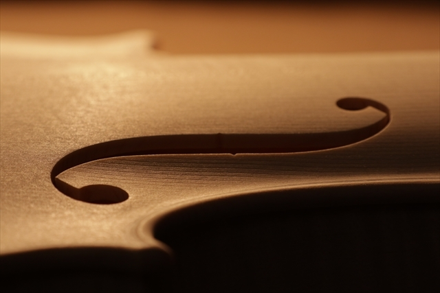 最新作、ホワイトヴァイオリンで完成。_d0047461_04482630.jpg