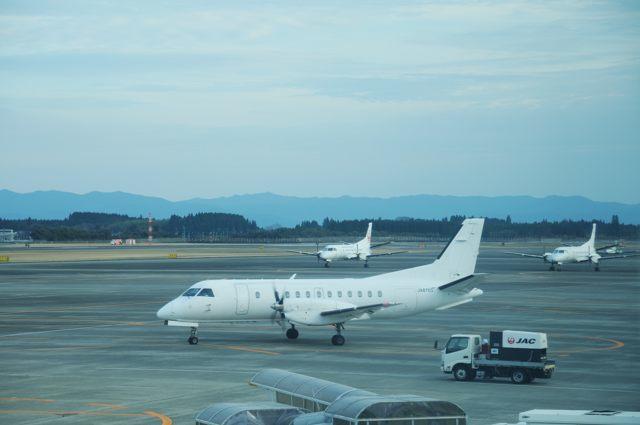 鹿児島空港の真っ白なSAAB340B(まさかの復活)_c0081462_13441632.jpg