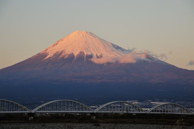 冨士川沿いから富士を眺める_c0081462_13445788.jpg