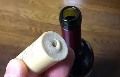 ワインの栓が抜けません 抜けました。_d0068664_16044556.jpg