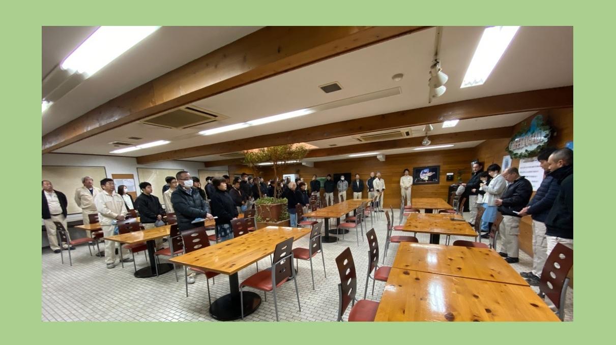 1月 全体朝礼_f0059665_11330653.jpg