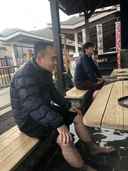 モンキーパークから足湯まで in 嵐山_d0227066_21031571.jpg
