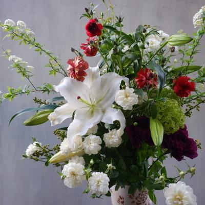 オークリーフ(先生へのお礼に)_f0049672_17163322.jpg