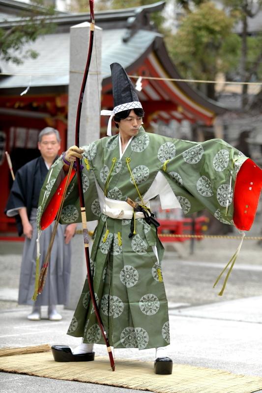 御霊神社 お弓神事_c0196076_07485656.jpg
