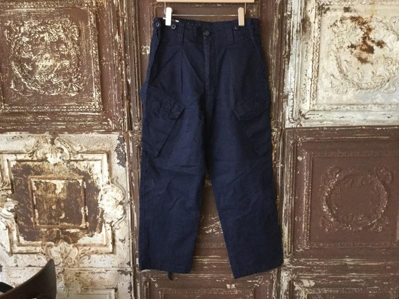 British Military Navy Blue Combat Trousers _c0226387_14552275.jpeg