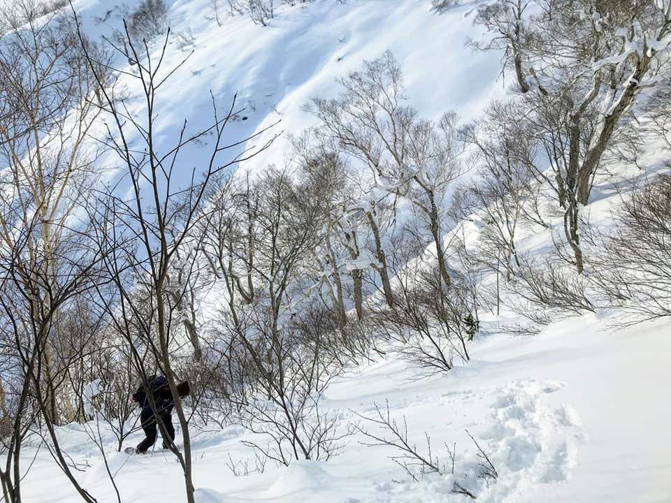 新ライトニングアッセントで信砂岳スノーハイク_d0198793_12055901.jpg