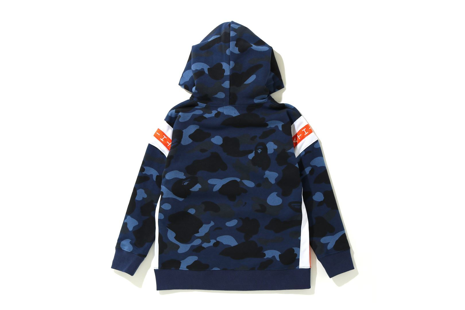 COLOR CAMO LOGO TAPE PULLOVER HOODIE_a0174495_13515950.jpg